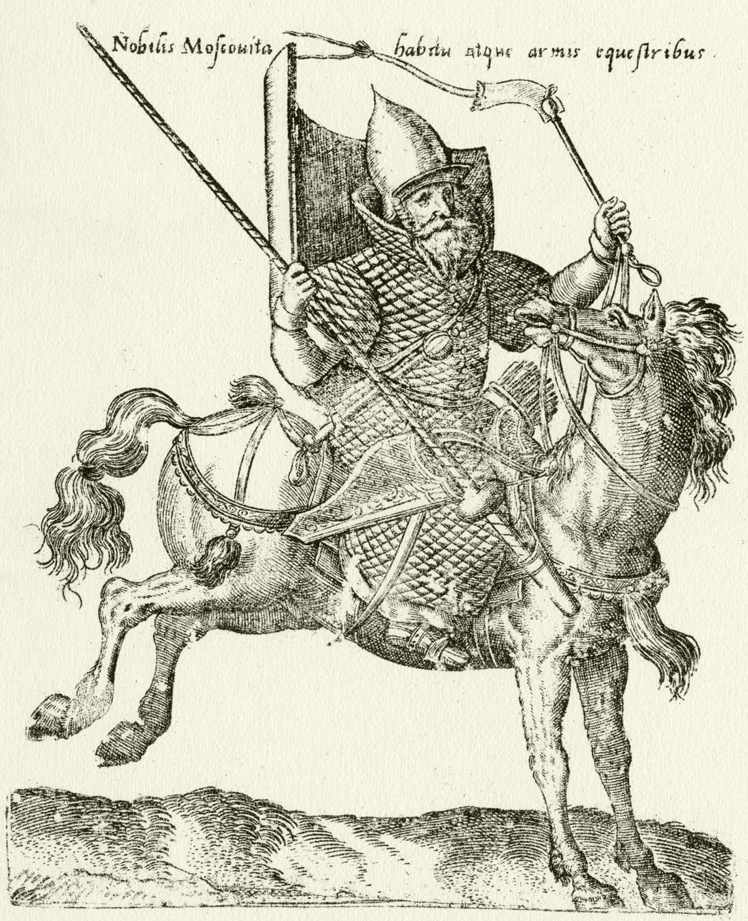 219. «Nobilis Moscouita babitu atque armis equestribus»