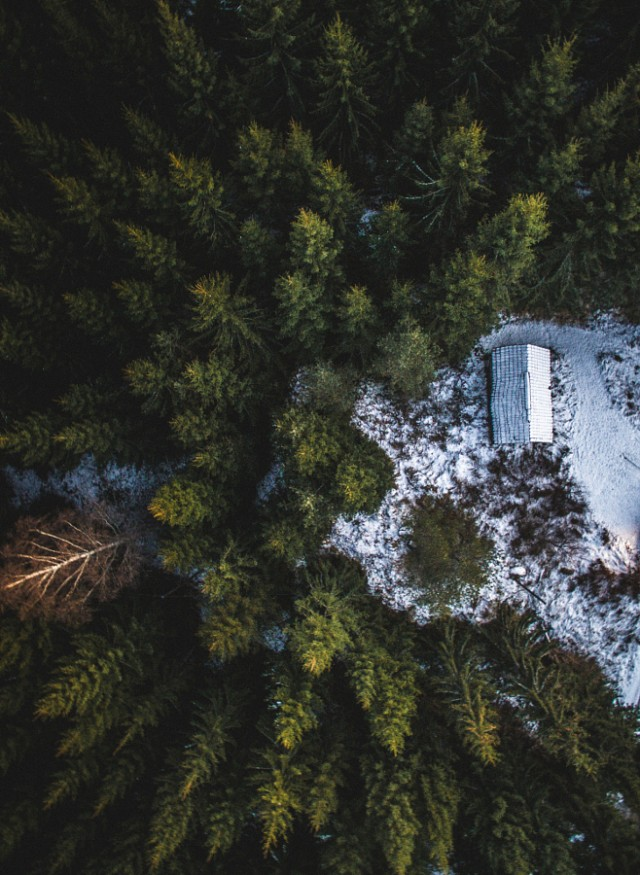 Fascinating Aerial Nature Photography by Tobias Hagg