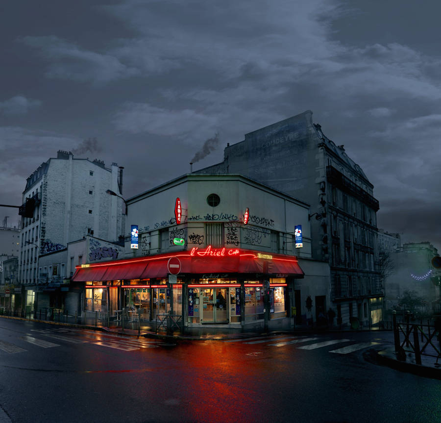 L'Ariel, Paris XX.