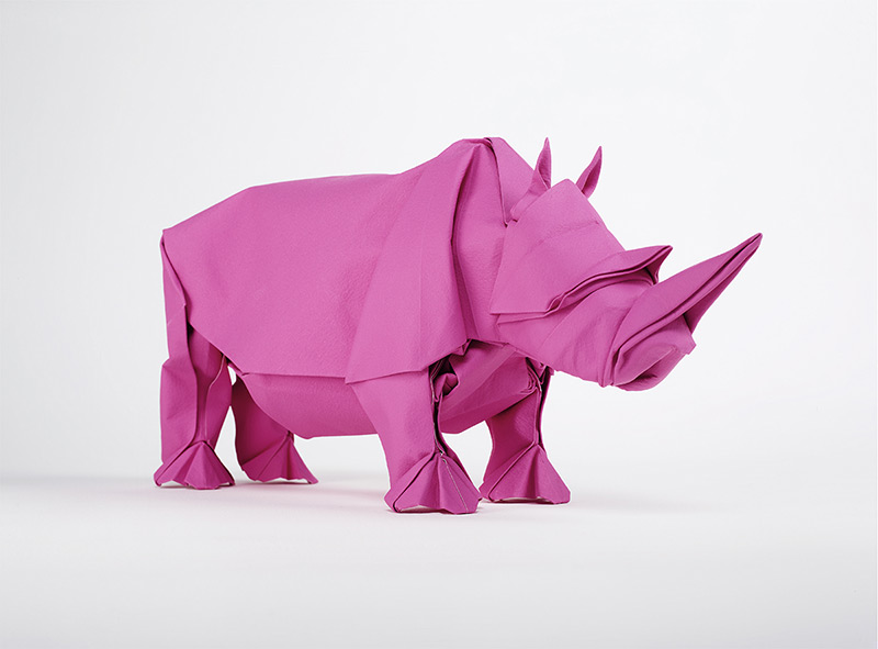 Origami Artist Sipho Mabona Will Attempt to Fold a Life-Sized Elephant from a Single Piece of Paper