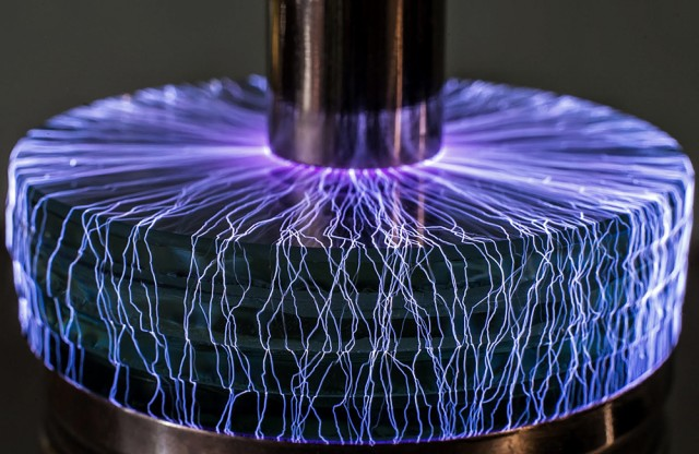 Tesla Sparks and Miniature Storms