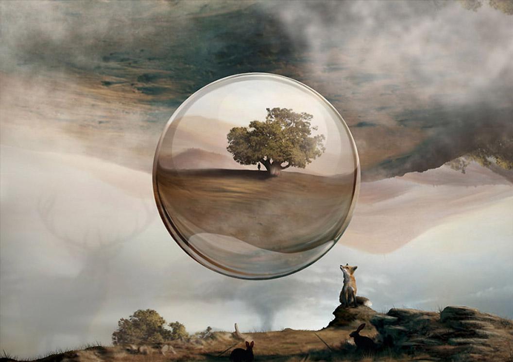 Jaime Sanjuan cria imagens fotorrealistas usando os dedos