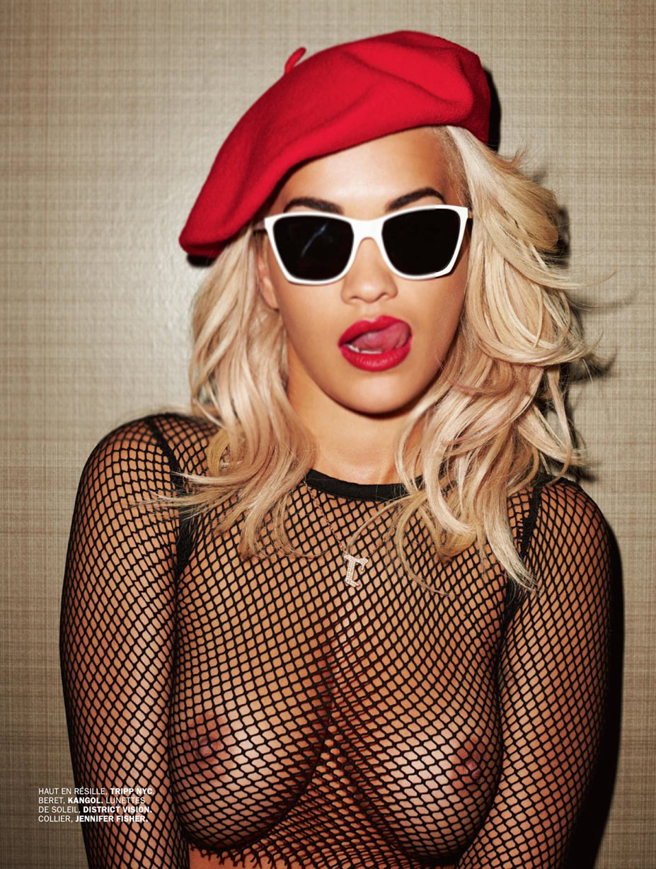 Rita Ora by Terry Richardson / голая Рита Ора в журнале Lui, февраль 2016