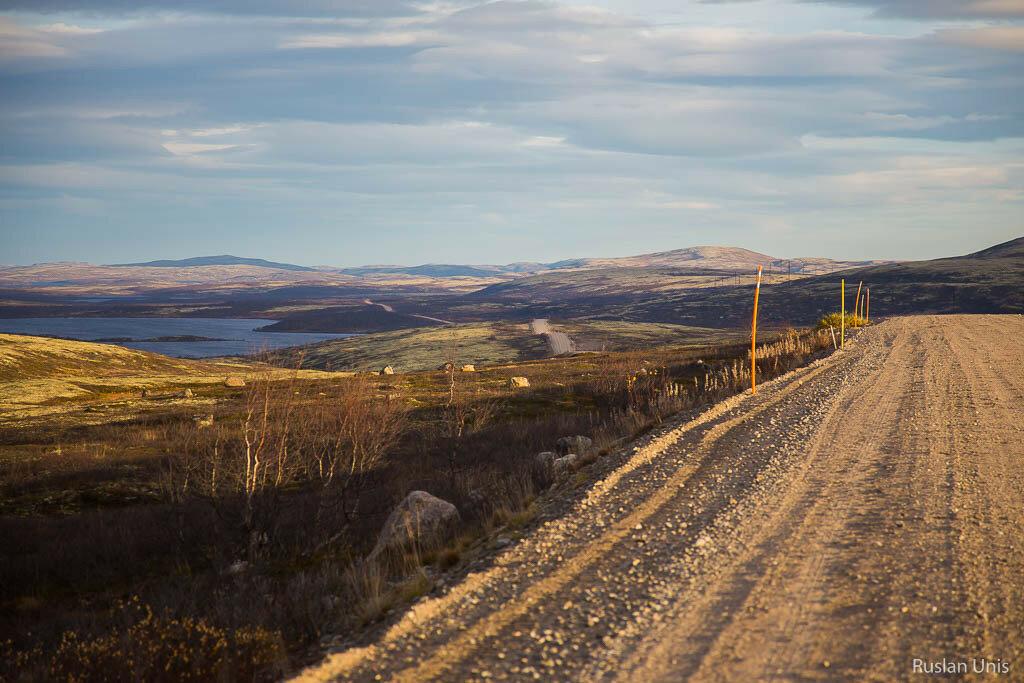 Дорога в Териберку