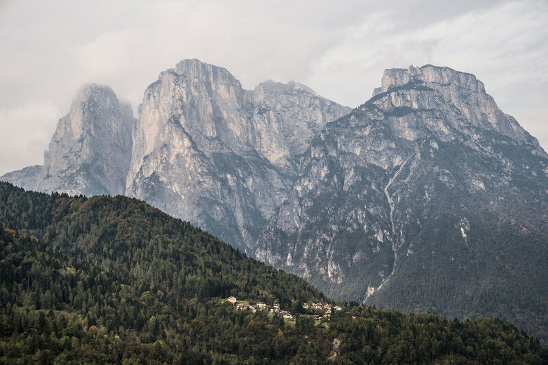 в доломитовых альпах