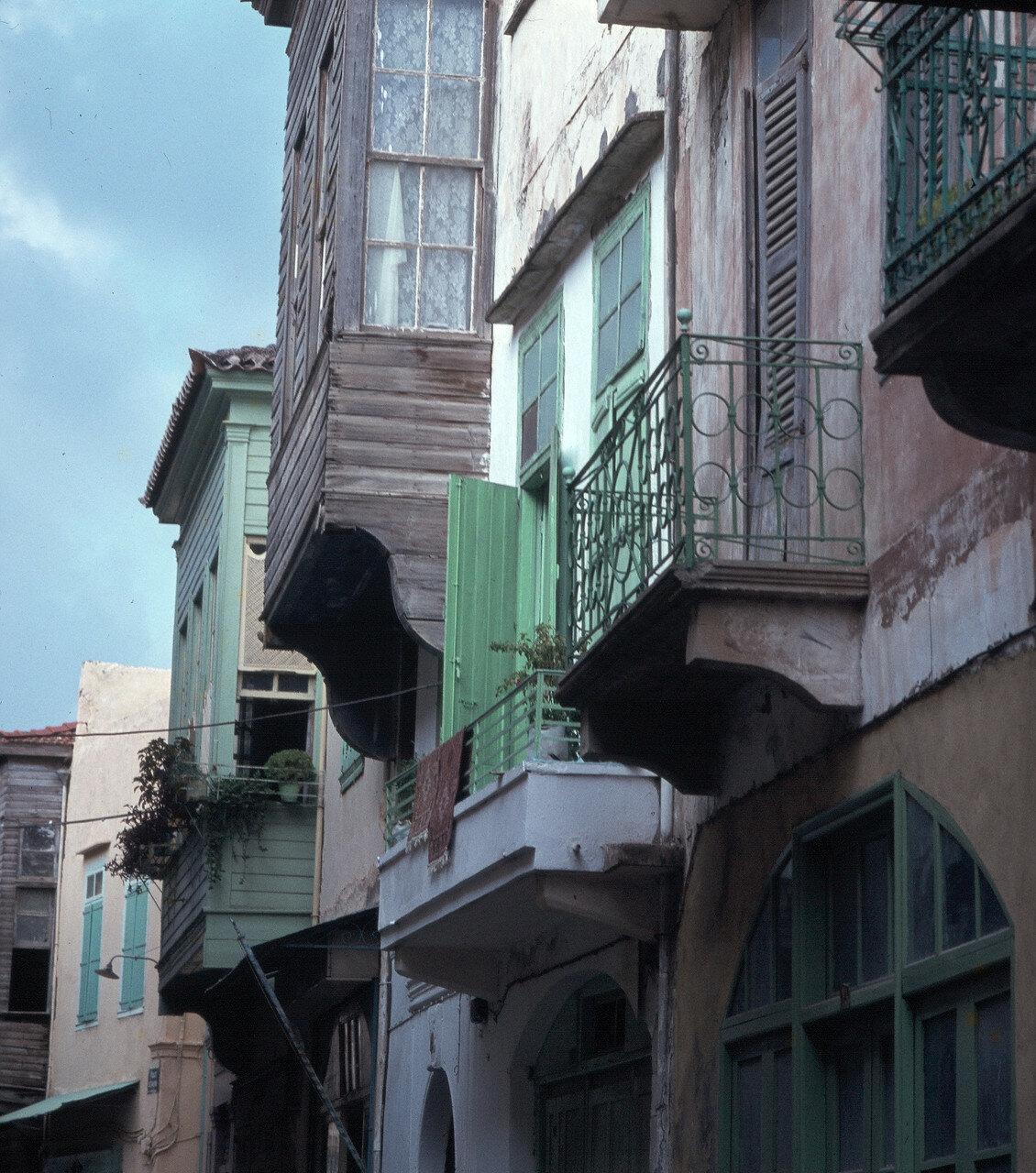 1970. Ретимнон. Турецкие деревянные балконы