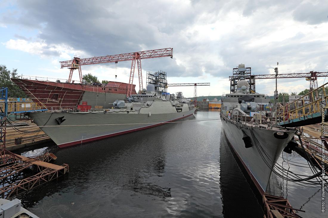 корабли строят зеленодольский судостроительный завод имени А.М.Горького