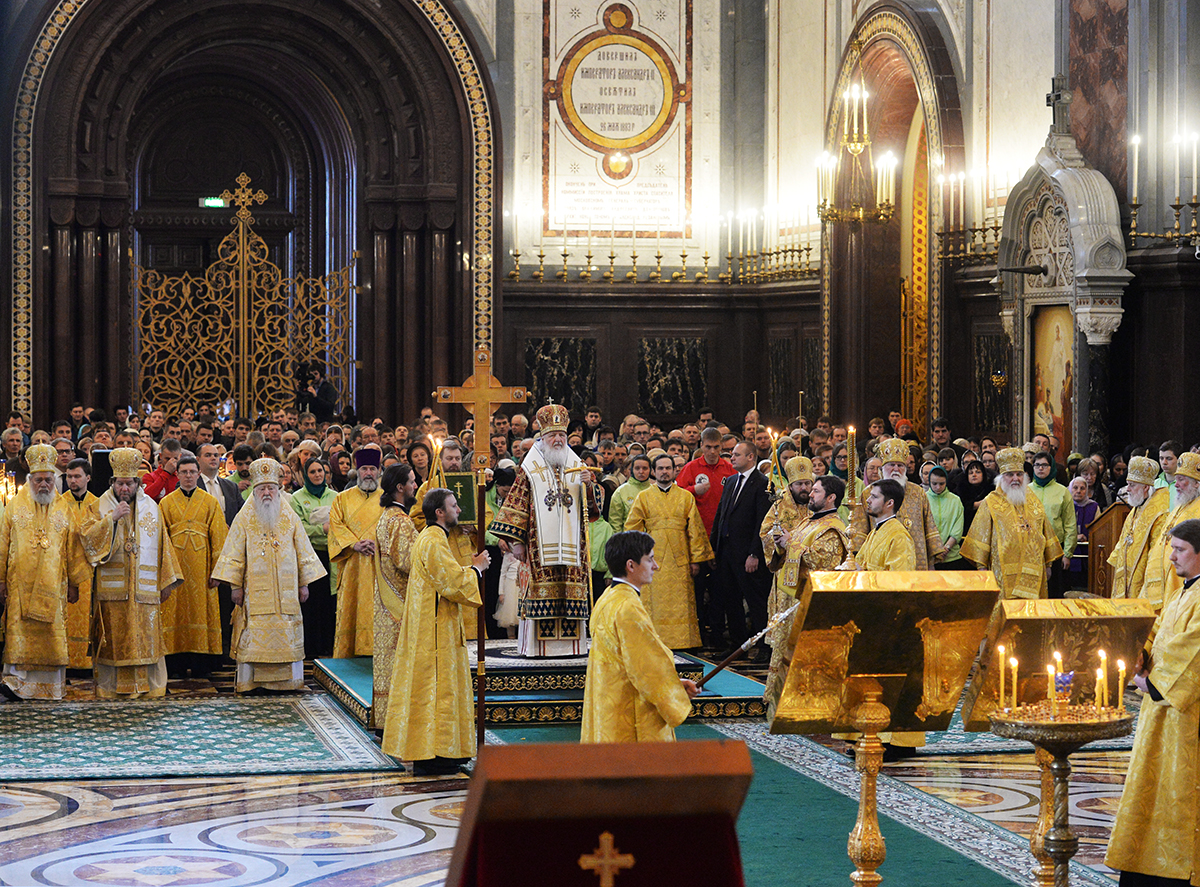 Храм Христа Спасителя 20 марта Торжество Православия
