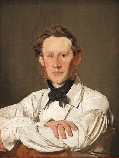 Portrait of the painter, Christian Holm (1804-1846).jpg