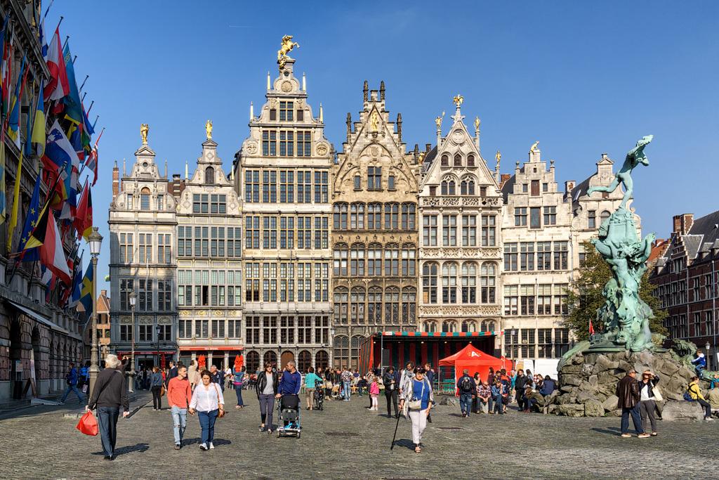 Достопримечательности Антверпена. Фото Антверпена. Что посмотреть в Антверпене за один день.