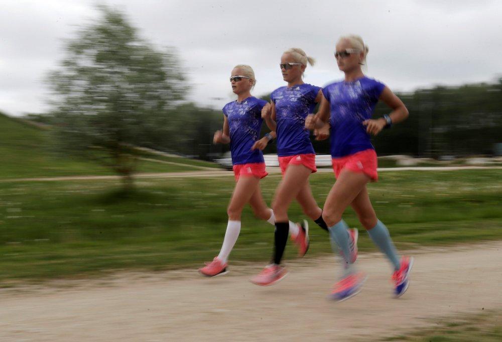 Эстонские Олимпийские тройняшки