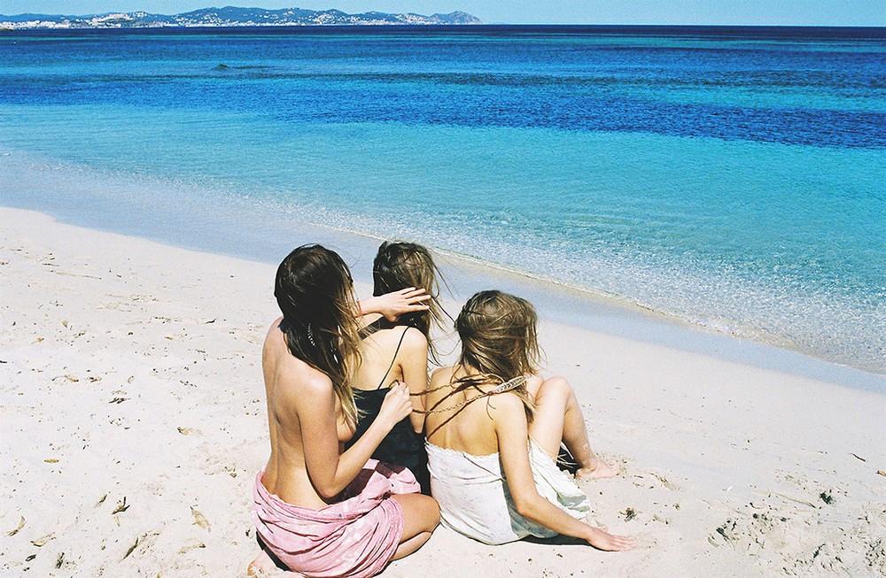 Девушки на снимках Софи ван дер Перре
