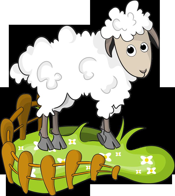 Рисунок овечки картинки