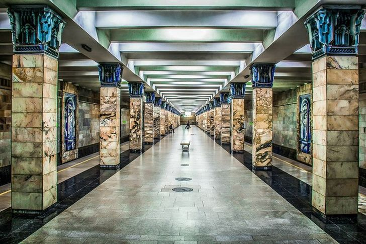 Станция Ташкент