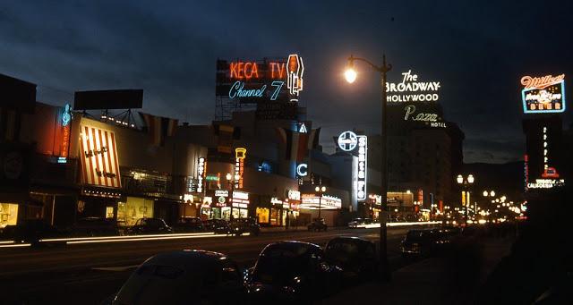 Вид из здания NBC Radio City, 1948 год.