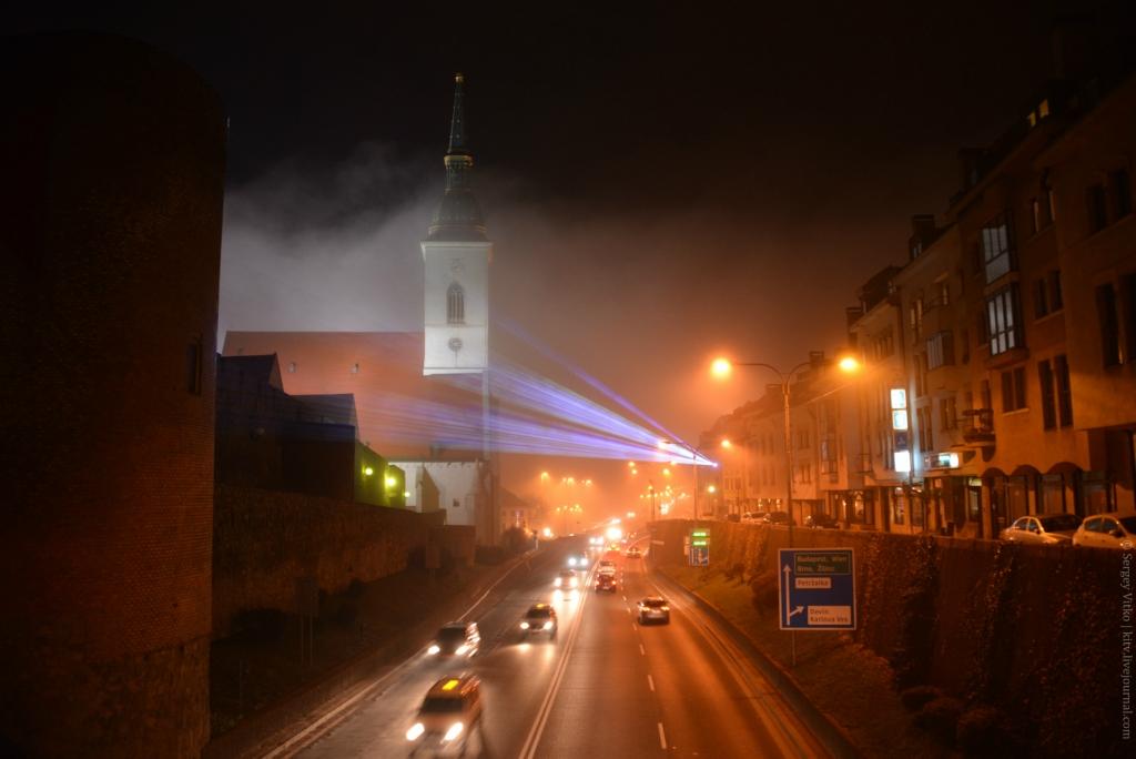 Когда туман преображает все вокруг… Братислава в объективе Сергея Витко (Sergey Vitko)