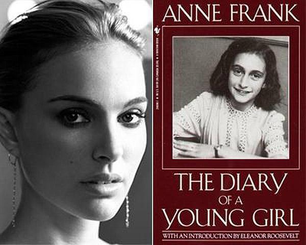 24. Натали Портман (Natalie Portman) — «Дневник Анны Франк».