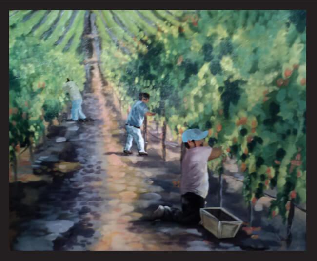 Удивительные картины безрукой калифорнийской художницы