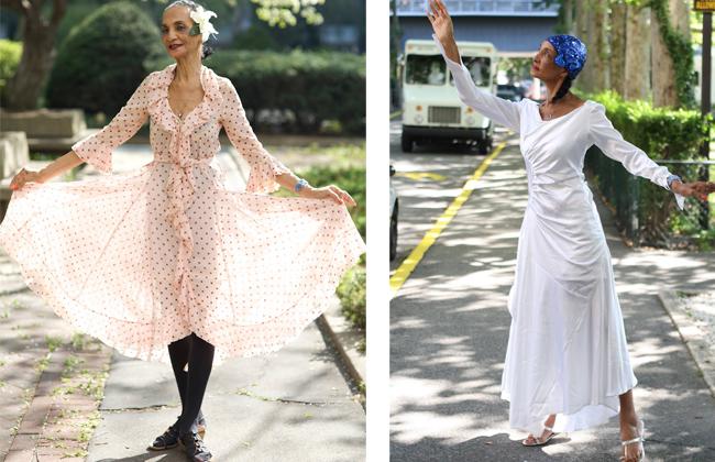 Жаклин Мердок, 86 лет В молодости Жаклин была танцовщицей и мечтать не могла, чтобы появиться на обл