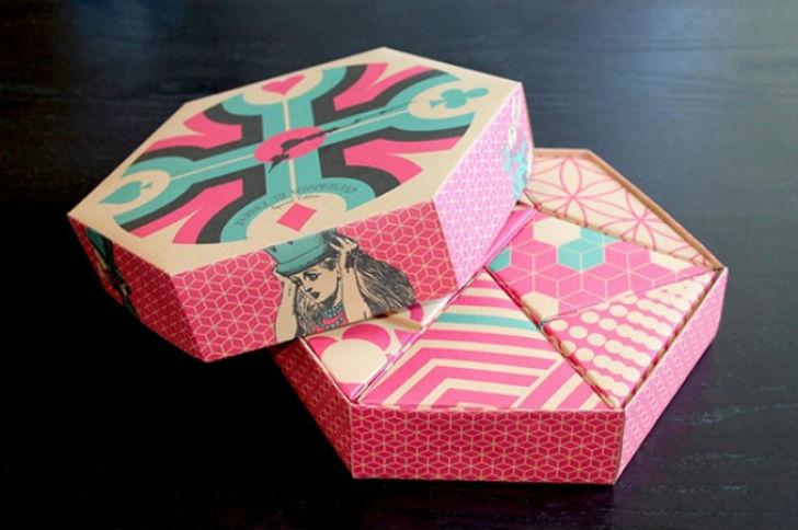 Арианна Аморес, дизайнер из Португалии, придумала волшебную коробку подарков. В самой упаковке помещ