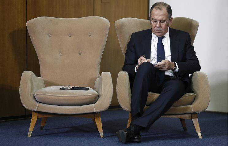 Лавров назвал «бесплодными посиделками» переговоры сСША поурегулированию кризиса вСирии