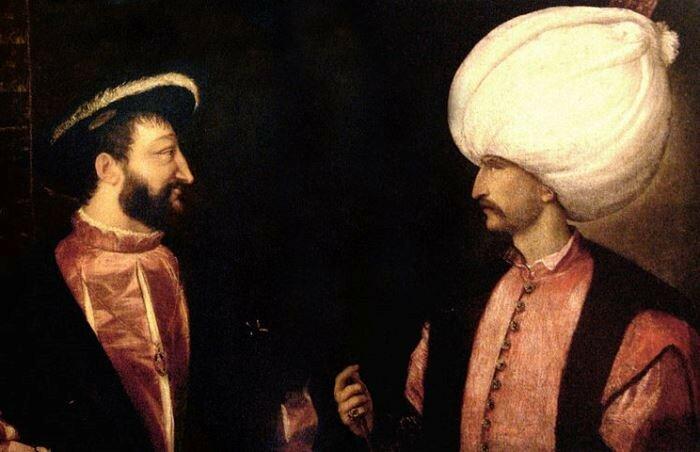 Франциск I и султан Сулейман