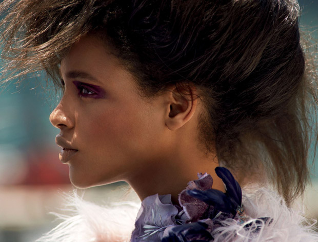 Fashion photographer Cedric Buchet captures Boldly Go beauty story for American Allure 's Sept