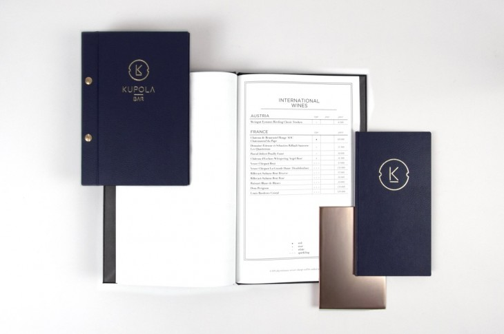 To achieve a sense of luxury within the branding, B3 Designers took inspiration from connoisseur cul