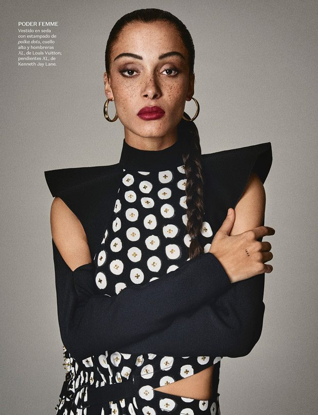 Vogue Mexico April 2017 Cover Story Starring Adwoa Aboah