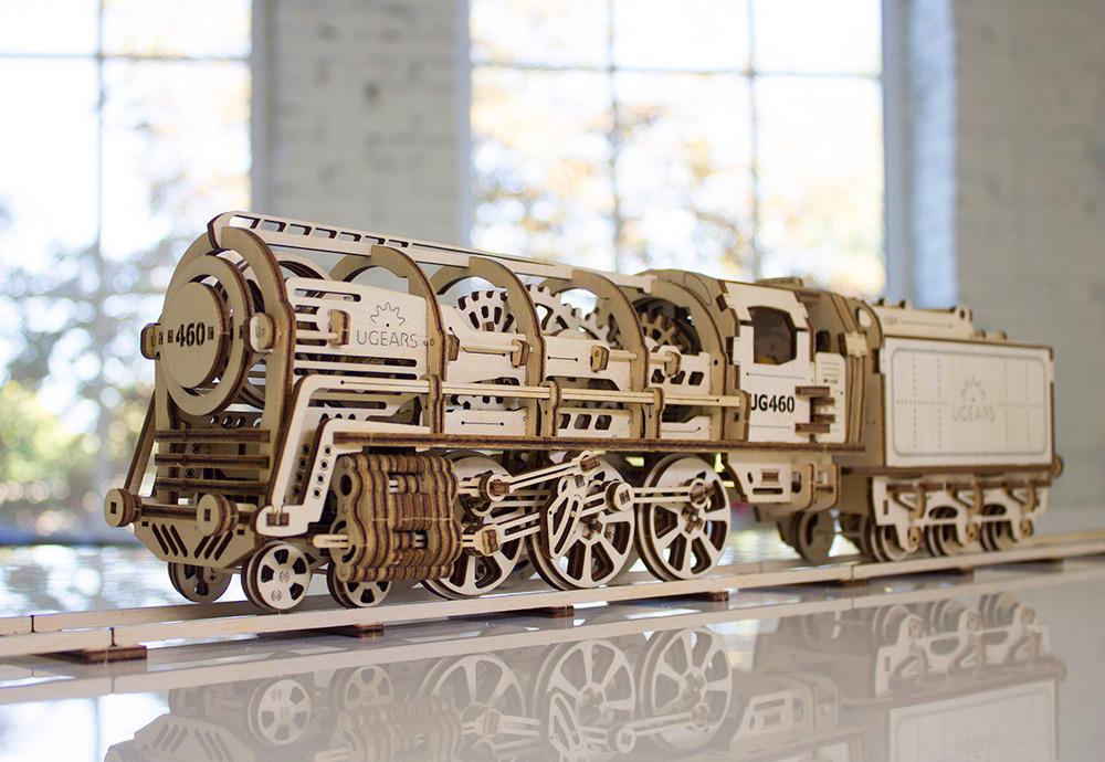 UGEARS: Elaborate Self-Propelled DIY Mechanical Models (7 pics)