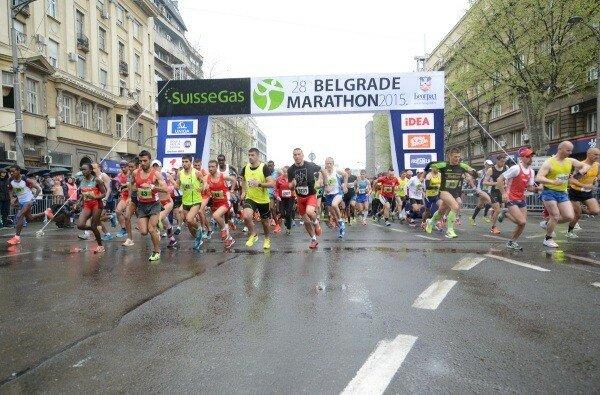 Сербия, Белград, марафон