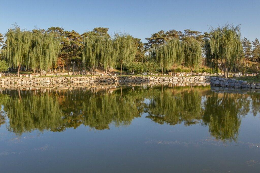 Каменистые берега, парк Юаньминъюань, Пекин