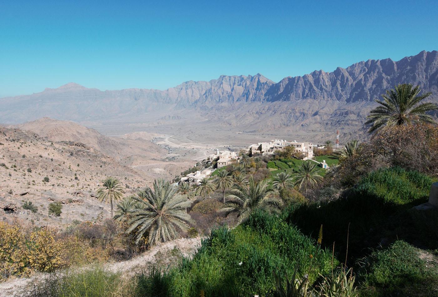 Фотография 10. Оман. Горный оазис. 200, F7,1; 1/800 s, экспокоррекция: +0,2.