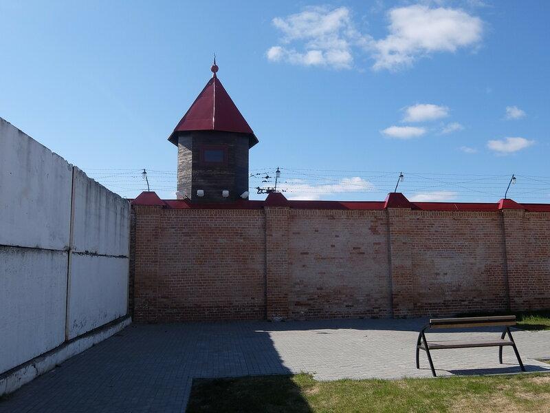 Тобольский Кремль - Тюремный замок - Стена
