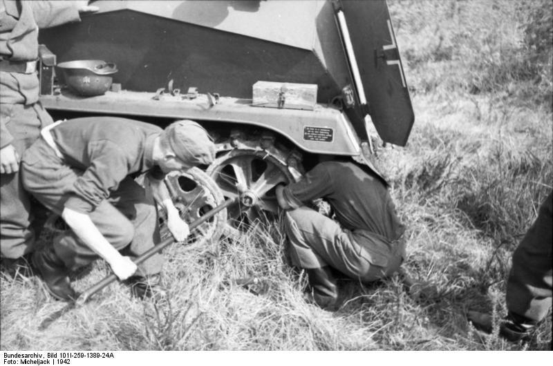 Sьdfrankreich, Schьtzenpanzer, Panzersoldaten
