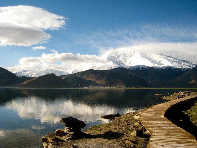 Озеро Каракуль. Таджикистан