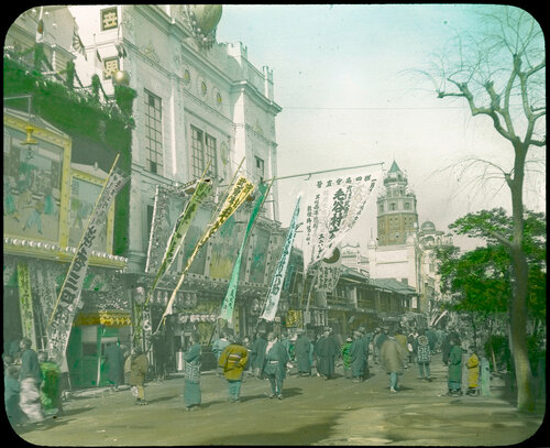 Токио. Театральная улица