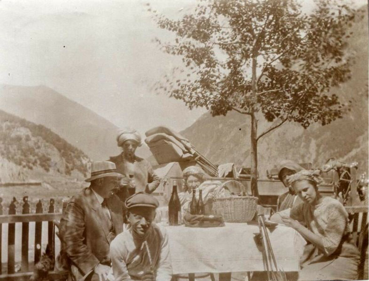 1913. Летний день