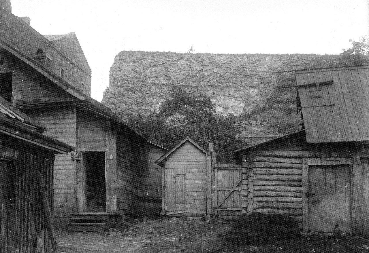 Крепостная стена у Большого Пятницкого пролома. 1907