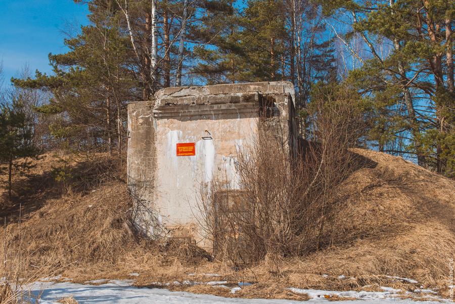 """alexbelykh.ru, Форт """"Красная горка"""", Артиллерийская батарея 10-дм (245 мм) орудий"""