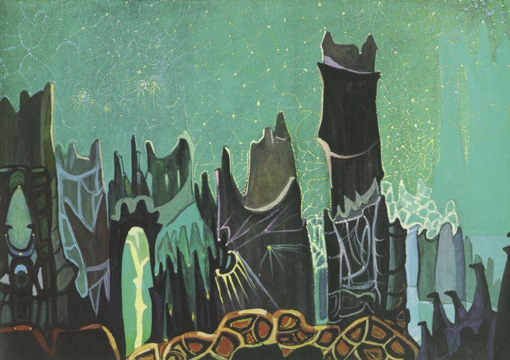 Черноволенко  Виктор  Тихонович  (1900-1972)Песнь звездВ.Т. Черноволенко - Песнь звезд, 1970