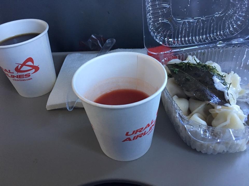 Горячее питание пассажиров - забота самих пассажиров! Мой ланч...