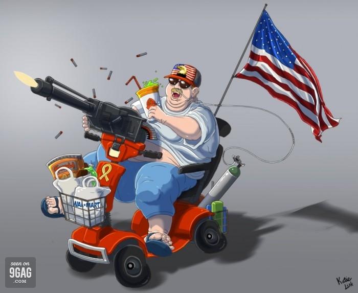 Перечень стереотипов об американцах