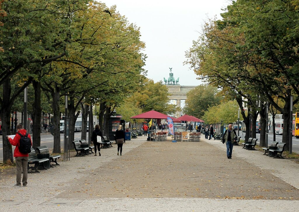 Berlin in early October