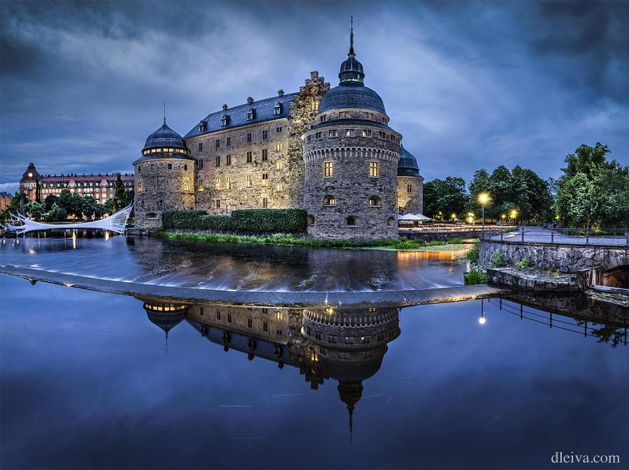 13.Швеция Северное сияние, заснеженные леса, замороженные морские пейзажи и великолепные замки – во
