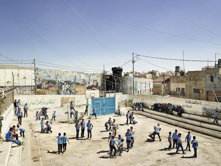 2.Школа для мальчиков Аида, Вифлеем, Западный берег реки Иордан