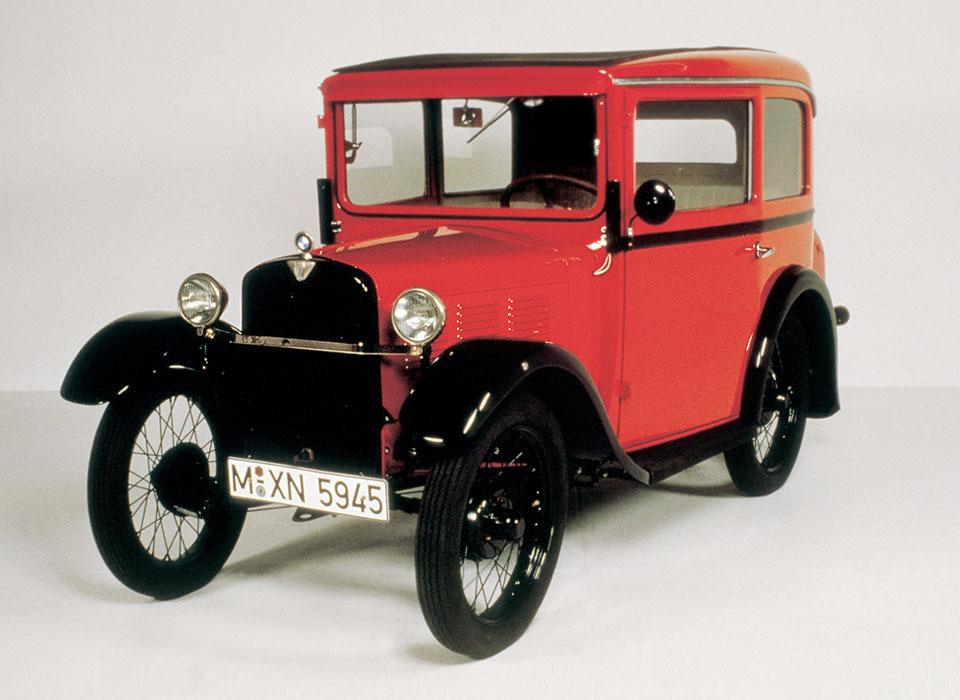 5. BMW 3/15 DA1 (1929) После Первой мировой войны известный производитель авиадвигателей был вынужде