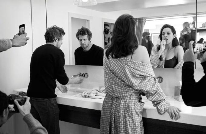 Марион Котийяр и Гийом Кане для Madame Figaro