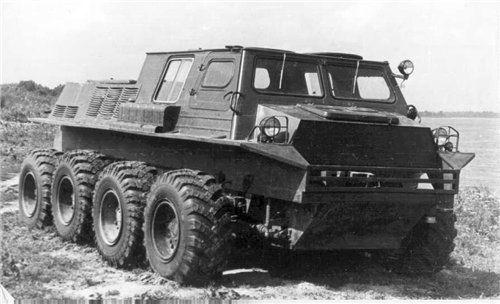 Одна из последних моделей вездеходов-амфибий советского периода увидела свет в 1983 году. ГПИ-3901 б
