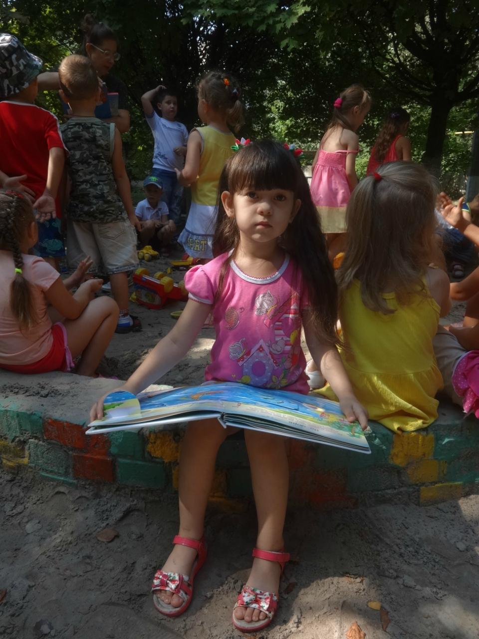 в гости к солнышку,донецкая республиканская библиотека для детей,отдел обслуживания дошкольников и учащихся 1-4-х классов,Ясли-сад №304
